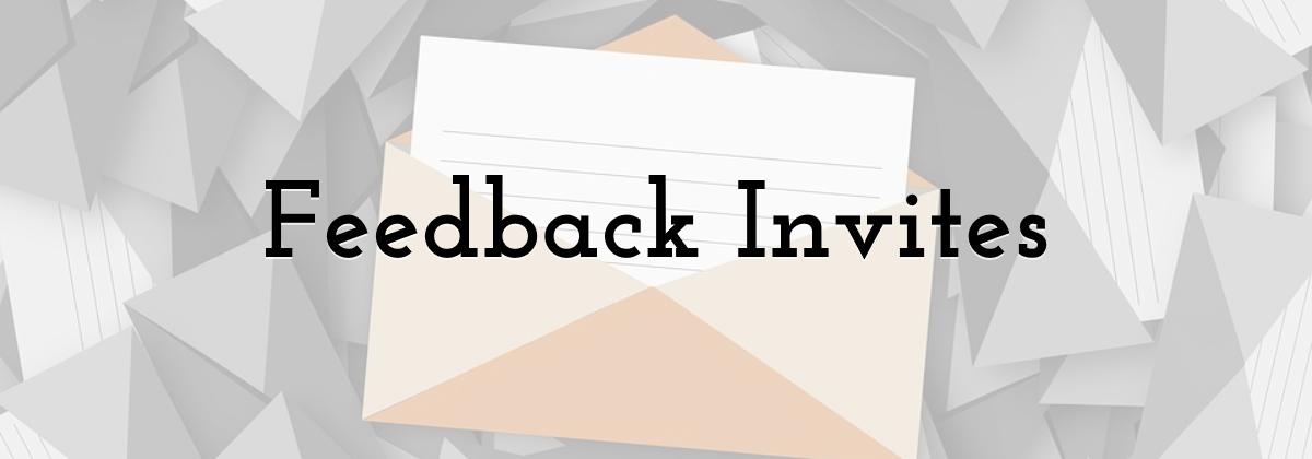 Feedback Invites
