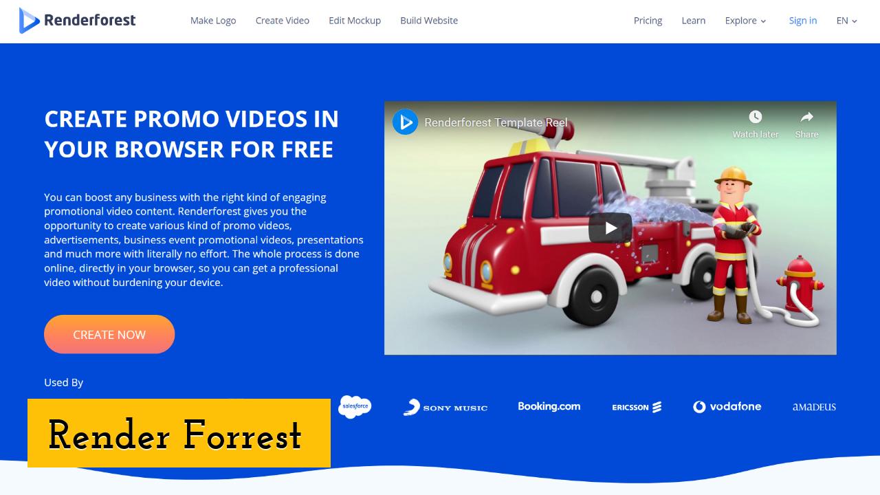 Render Forrest Screenshot