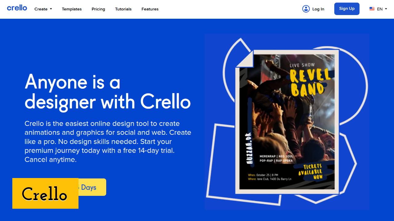 Crello Screenshot
