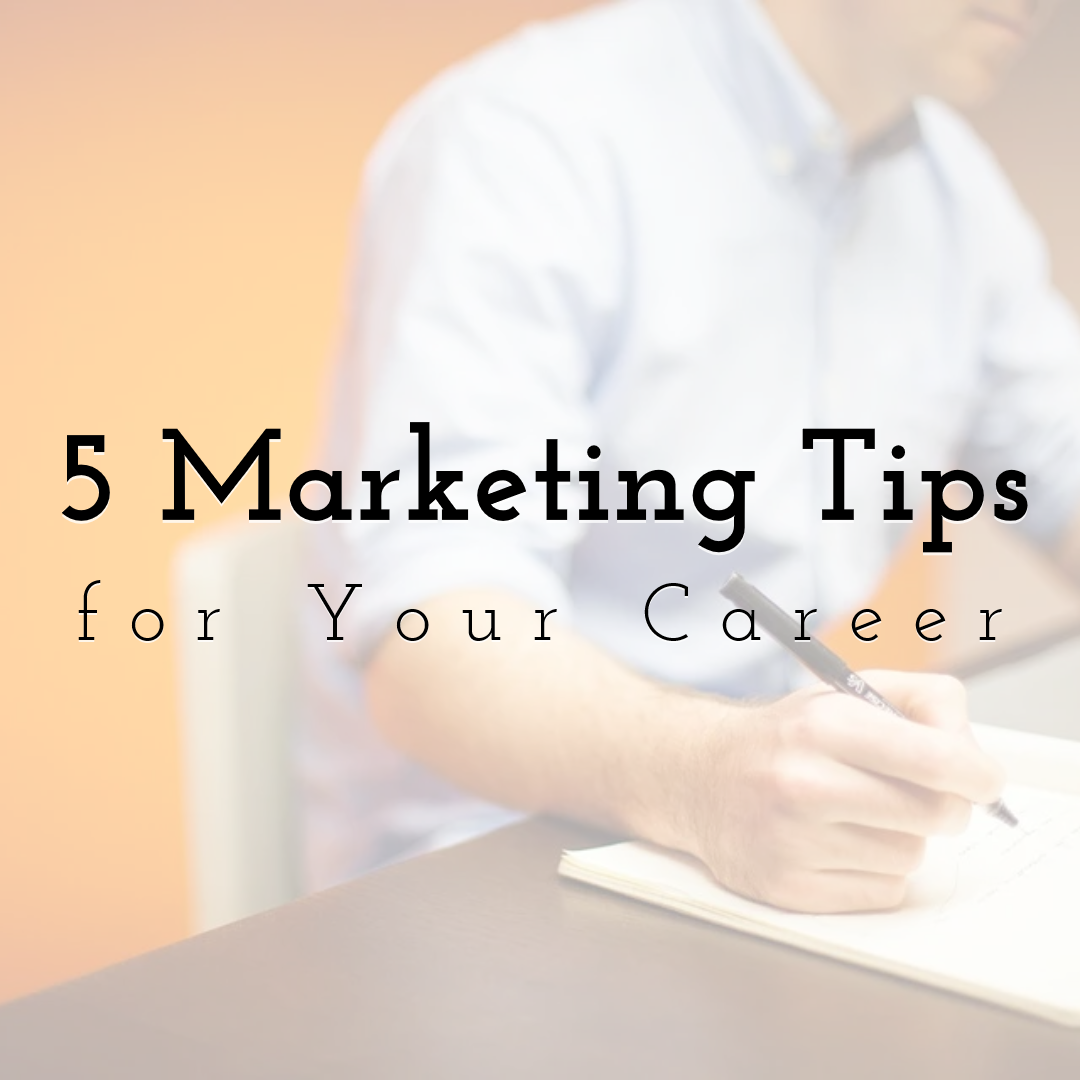 5 Social Media Marketing Tips for Your Career