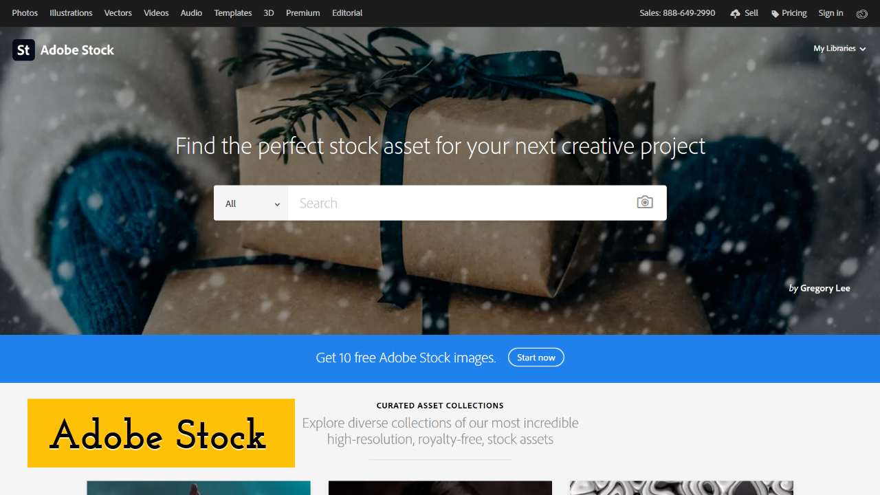 Adobe Stock screenshot