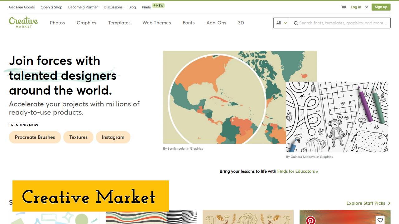 Creative Market screenshot