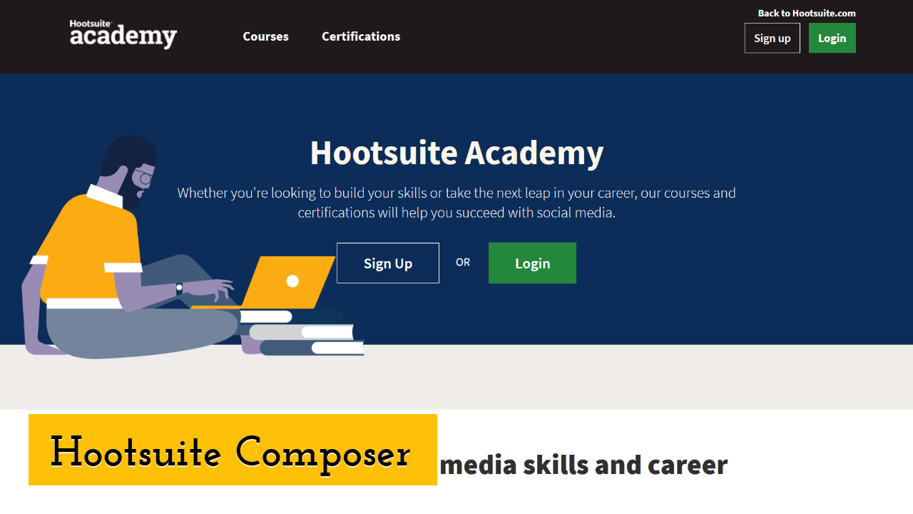 Hootsuite Composer screenshot