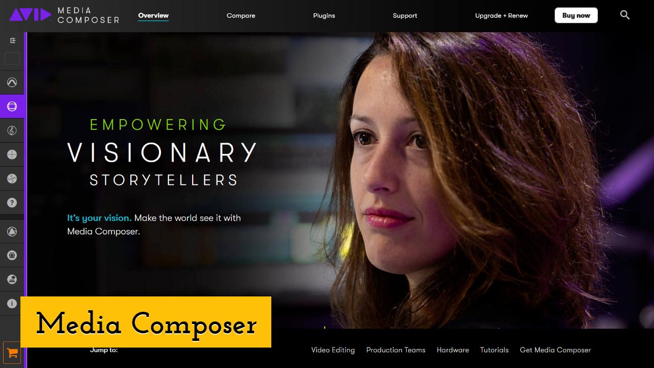 Media Composer screenshot