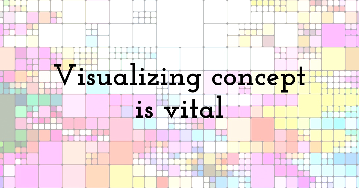 Visualizing concept is vital