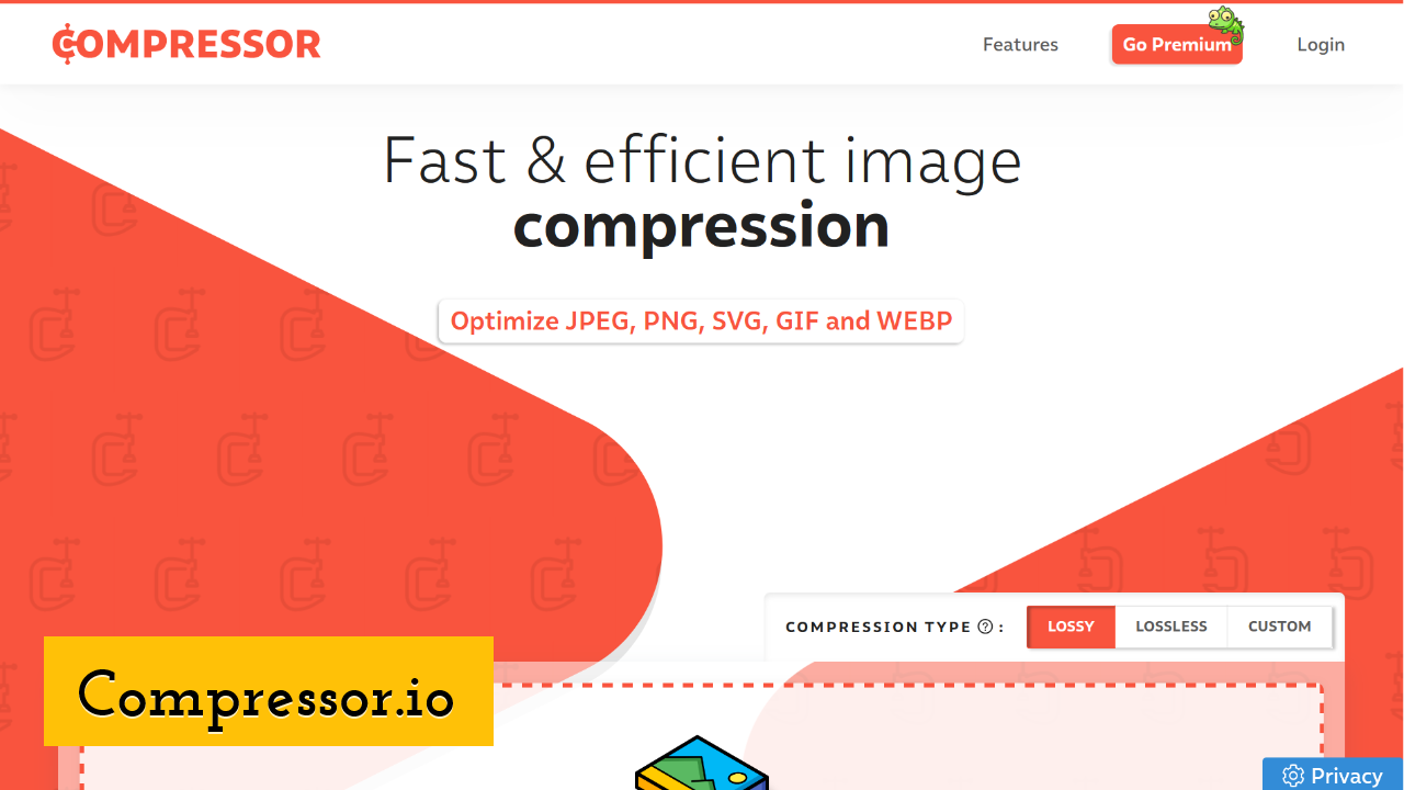Compressor.io Screenshot