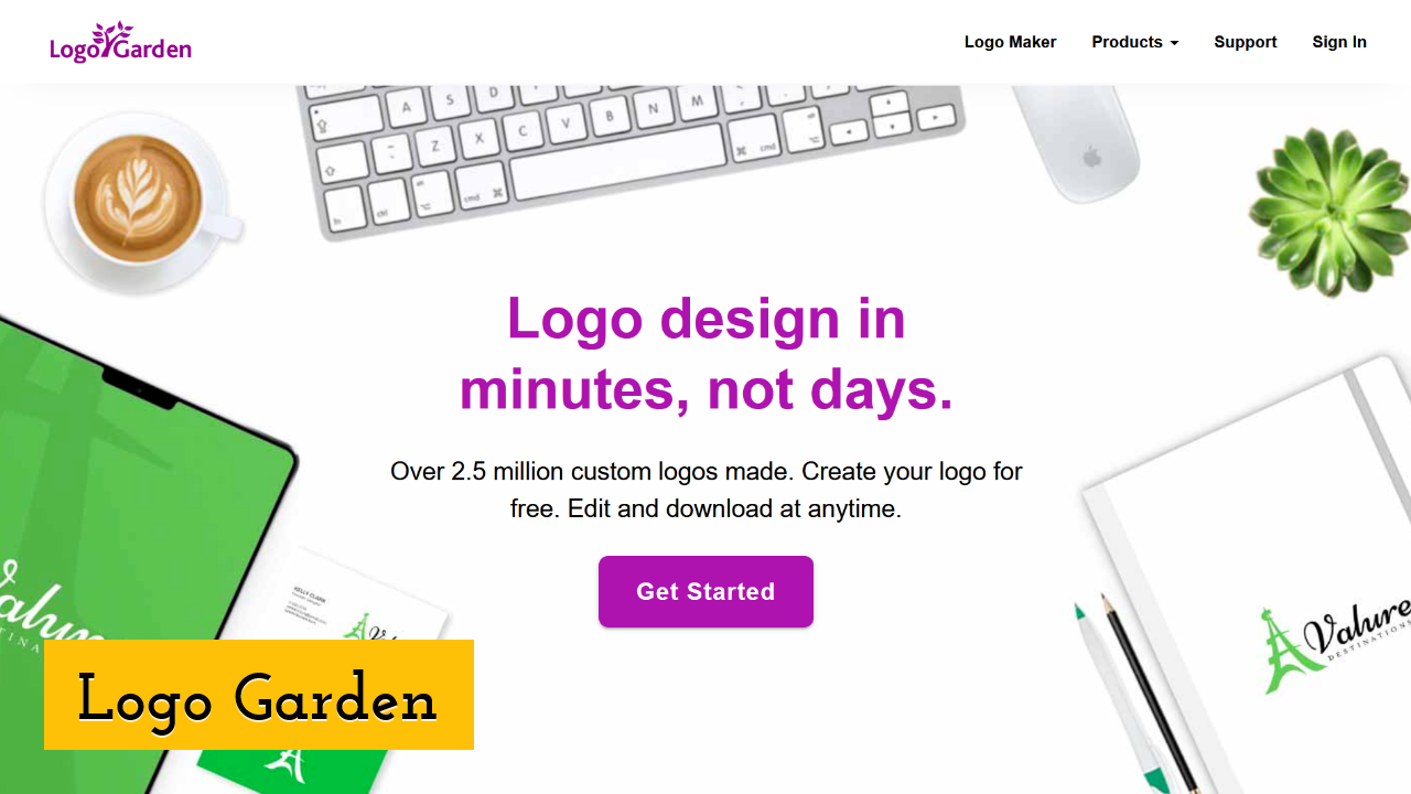 Logo Garden Screenshot