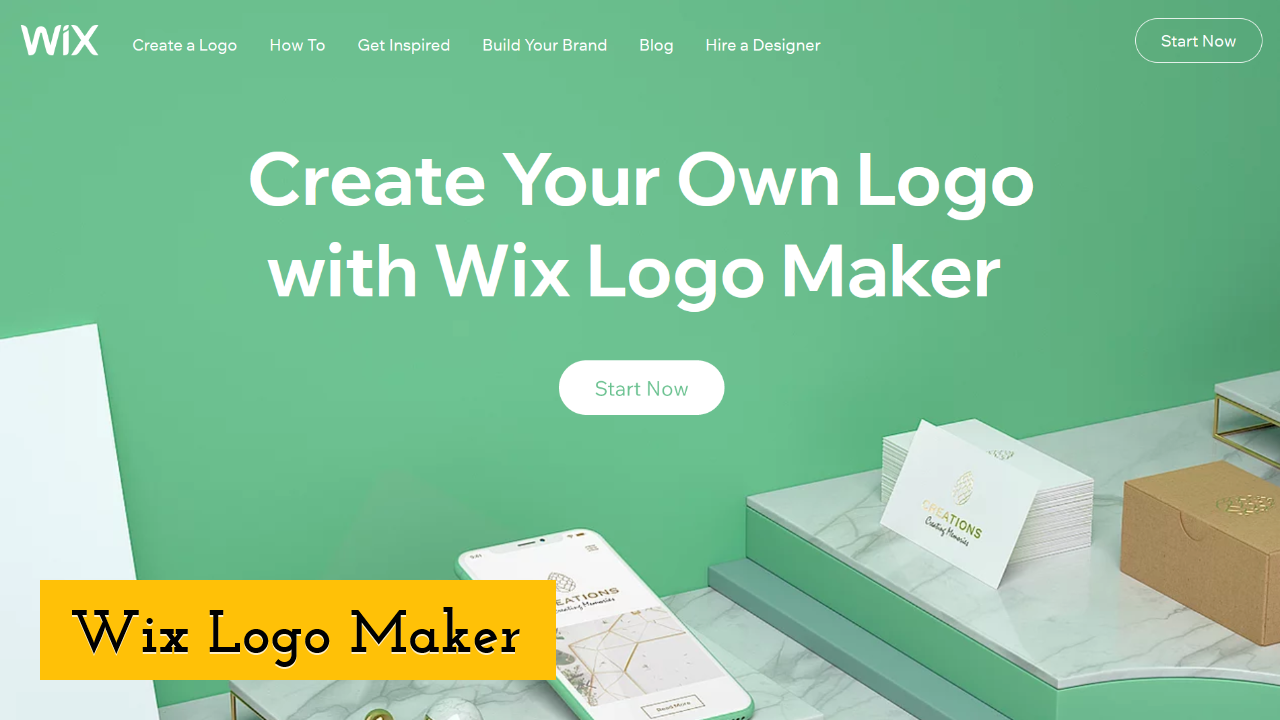 Wix Logo Maker Screenshot