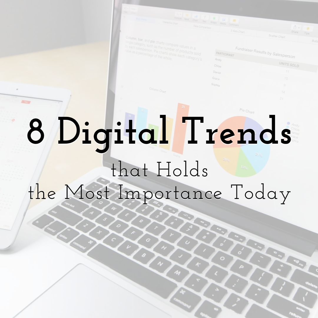 8 Digital Marketing Trends That Holds the Most Importance Today