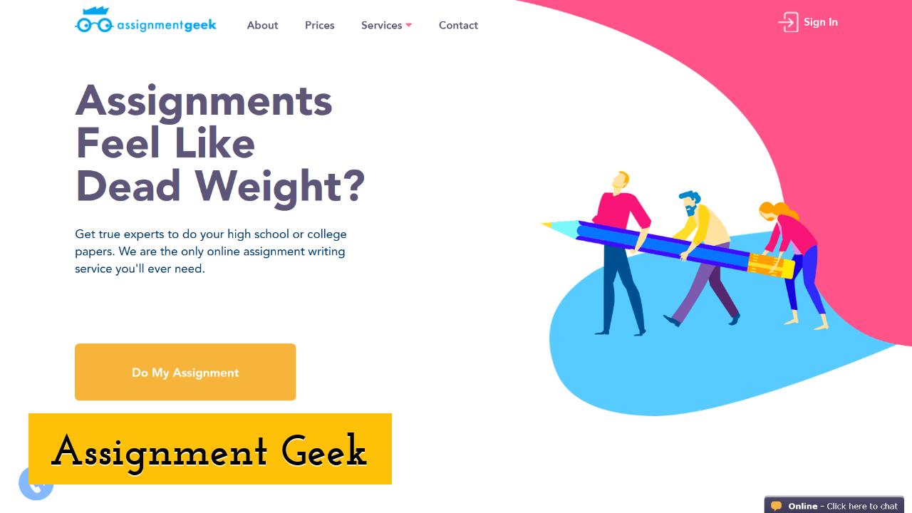 Assignment Geek Screenshot