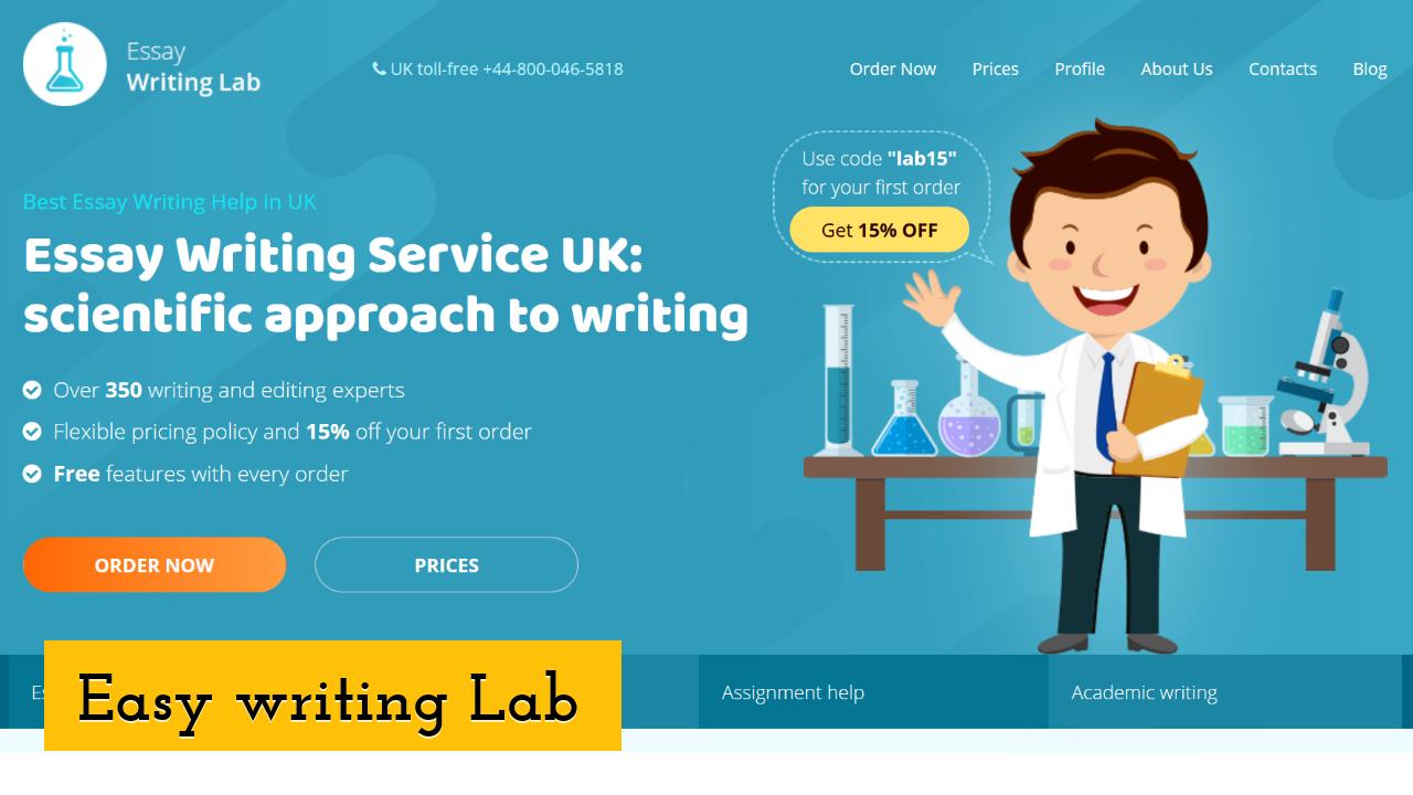 Easy writing Lab Screenshot