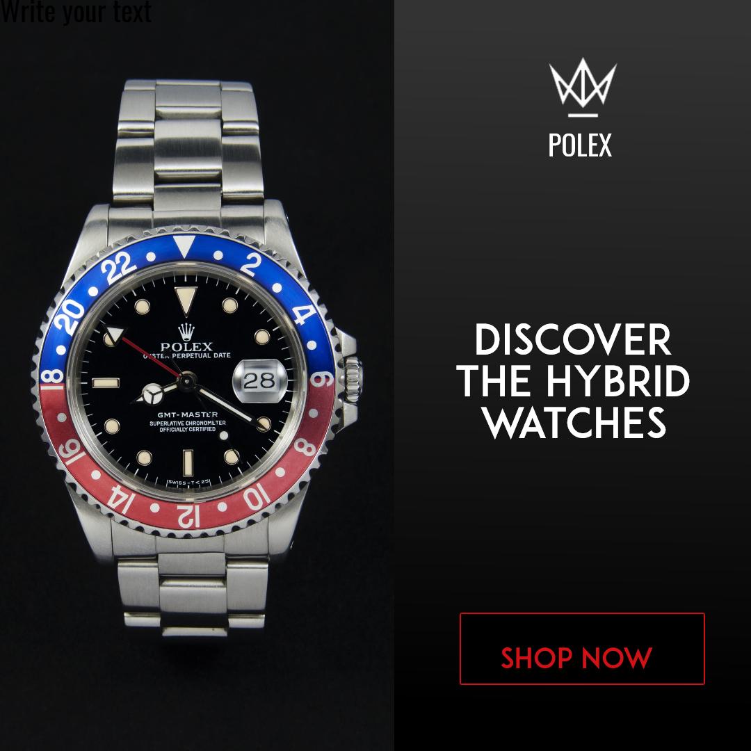 Hybrid Watches Design  Template