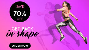 Gym Membership Sale Banner