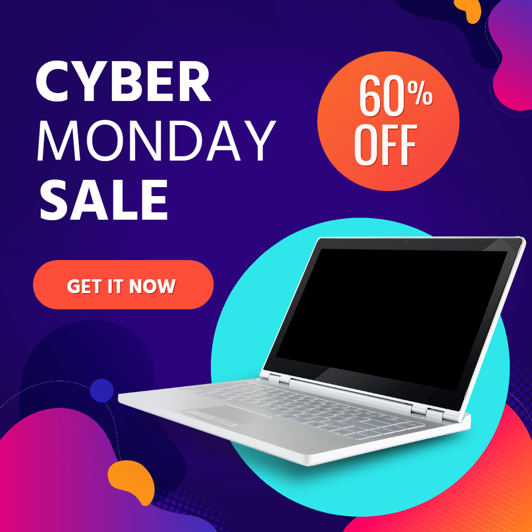 Cyber Monday Sale Animation  Template