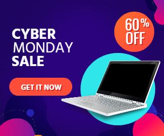 Cyber Monday Sale Design  Template