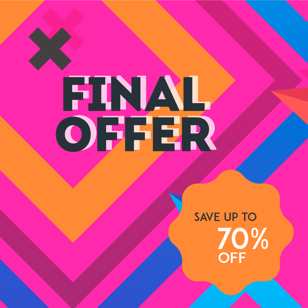 Final Offer Sale Banner Animation  Template