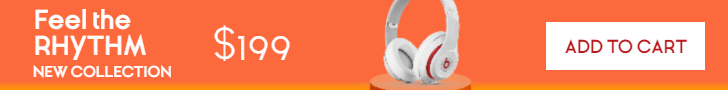 Headphones Sales Banner Animation  Template