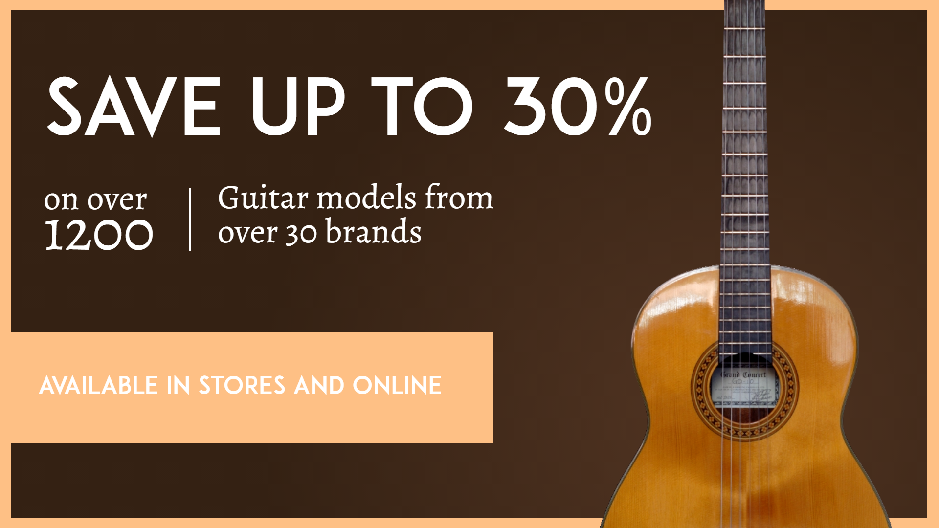 Musical Instruments Sale Animation  Template