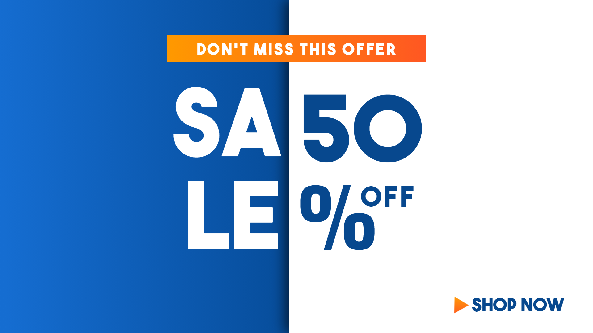 SaleS Banner Animation  Template