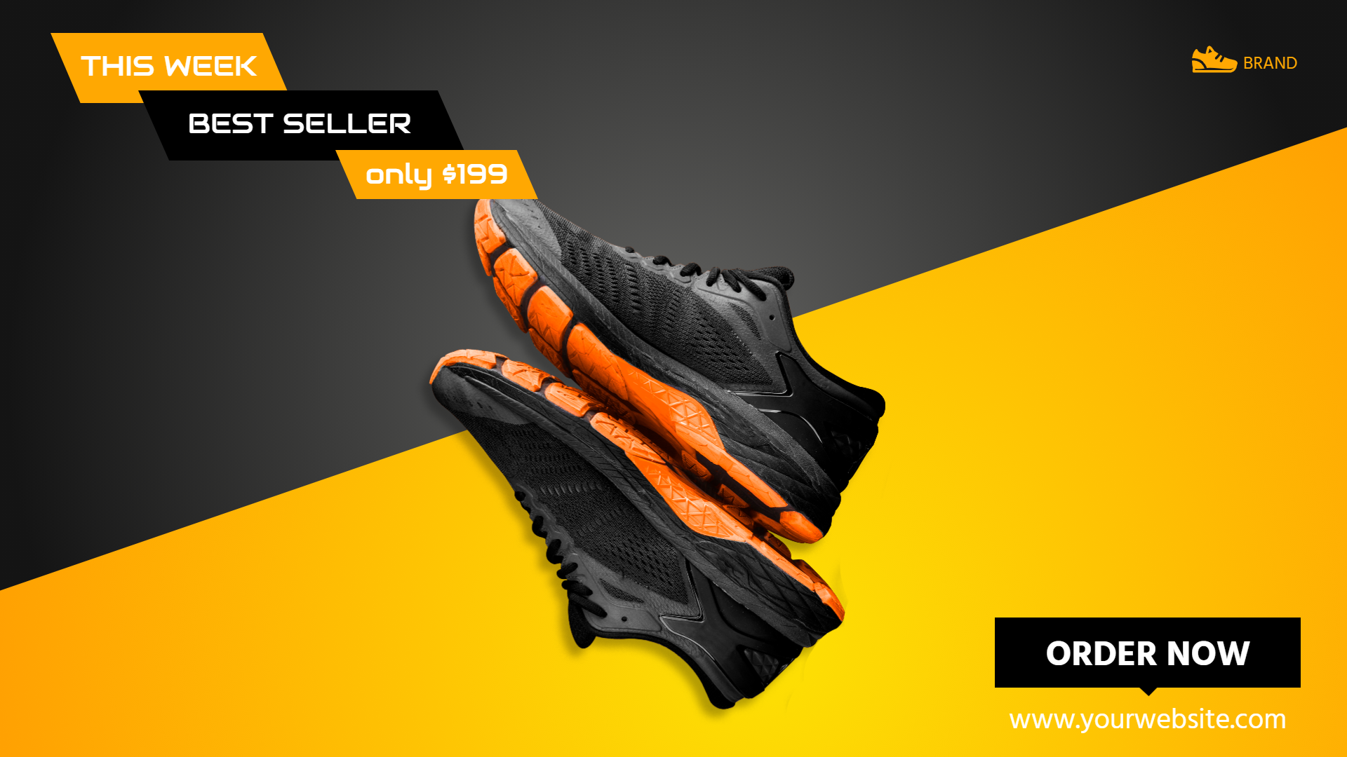 Sport Shoes Sale Banner Animation  Template