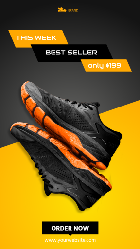 Sport Shoes Sale Banner