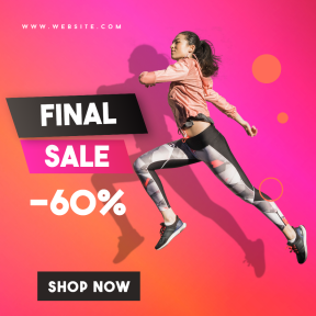 Gym Fashion Final Sale Banner