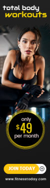 Gym Workout Sales Banner