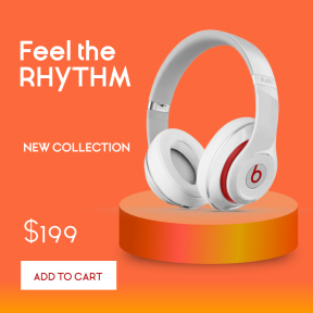 Headphones Sales Banner