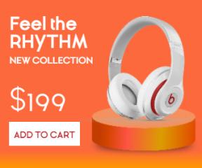 Headphones Sales Banner