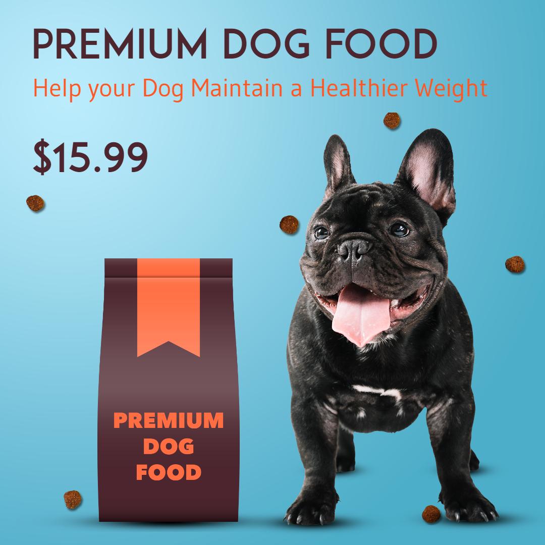 Dog Food Premium PtFood Animation  Template