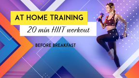 Youtube Fitness Training At Home Thumbnail