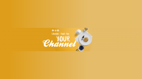 Youtube Lifestyle and Food Channel  Banner