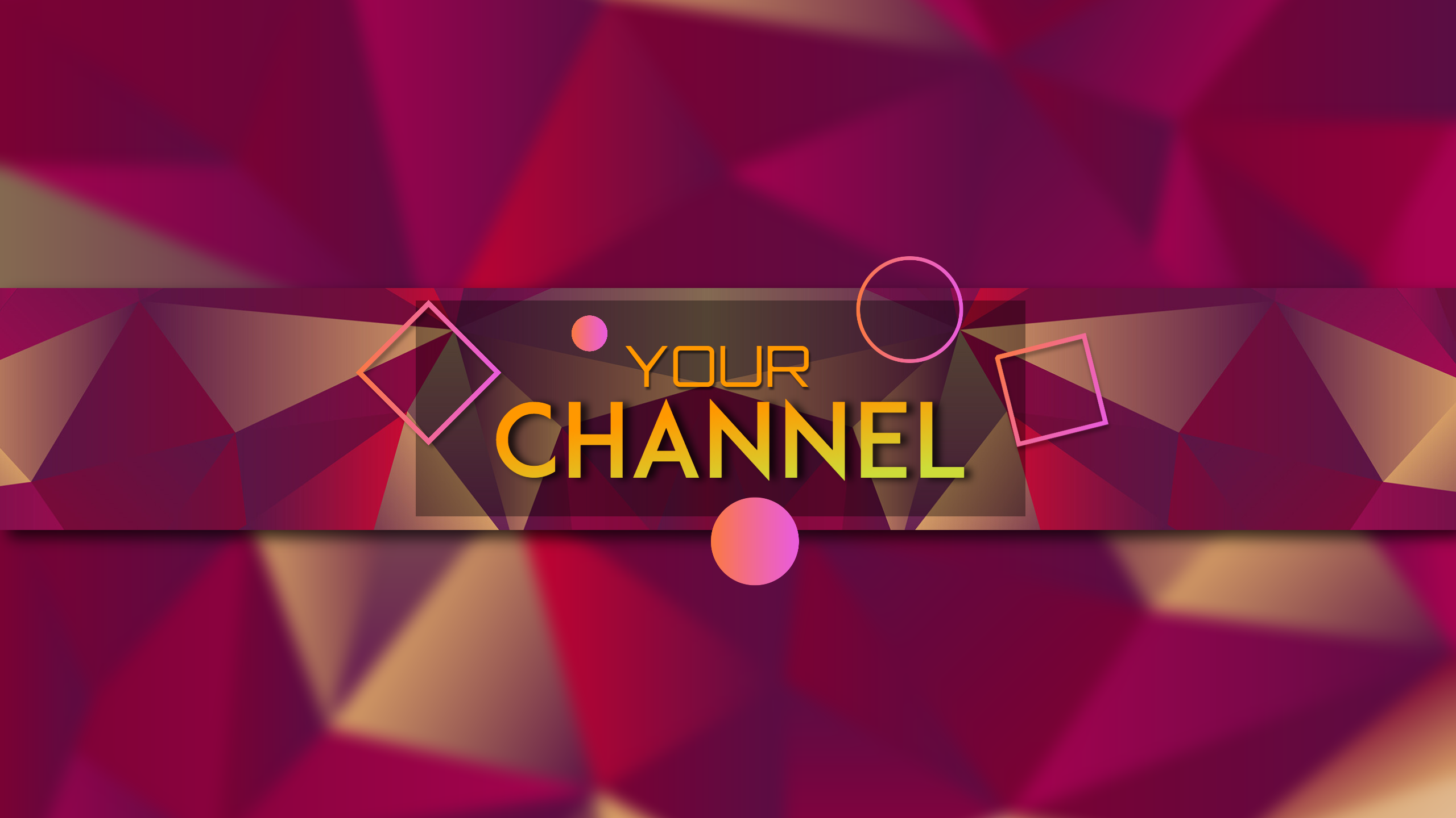 Youtube Channel  Banner Design  Template