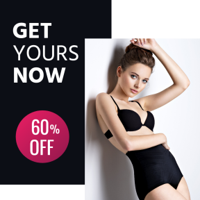 Lingerie Fashion Clothes Clothing Sales Banner