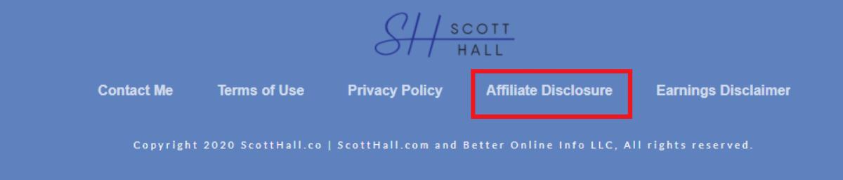 Insisting on ethical affiliate partnership