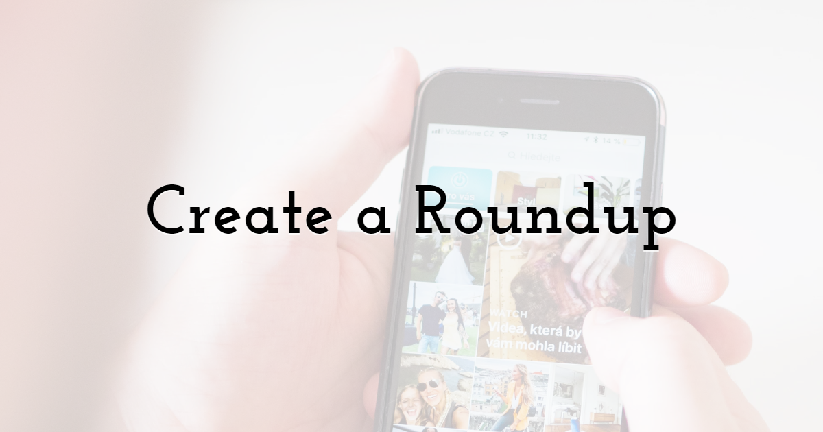 Create a Roundup