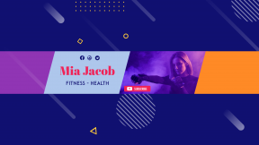 Youtube Fitness Health Sport Channel  Banner