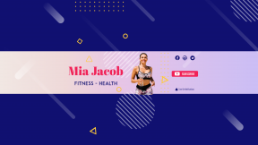Youtube Lifestyle Fitness Health Sport Channel  Banner