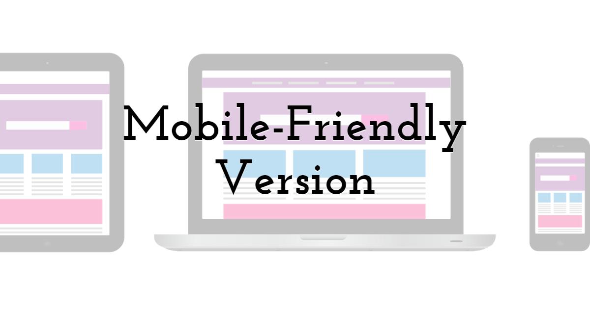 Mobile-Friendly Version