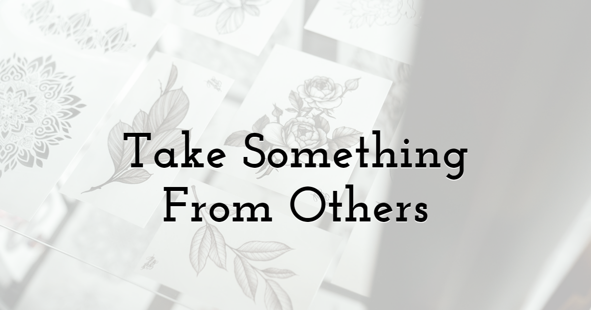 Take Something From Others