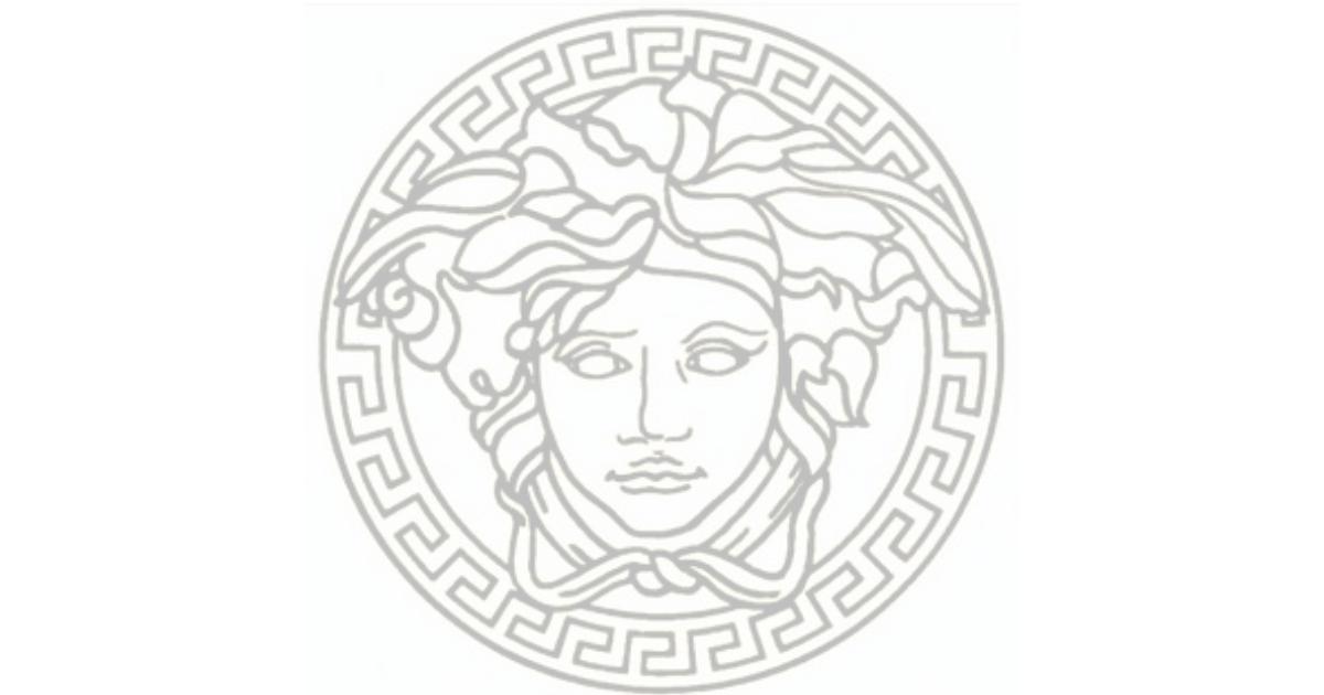 Versace's logo starring Medusa Head