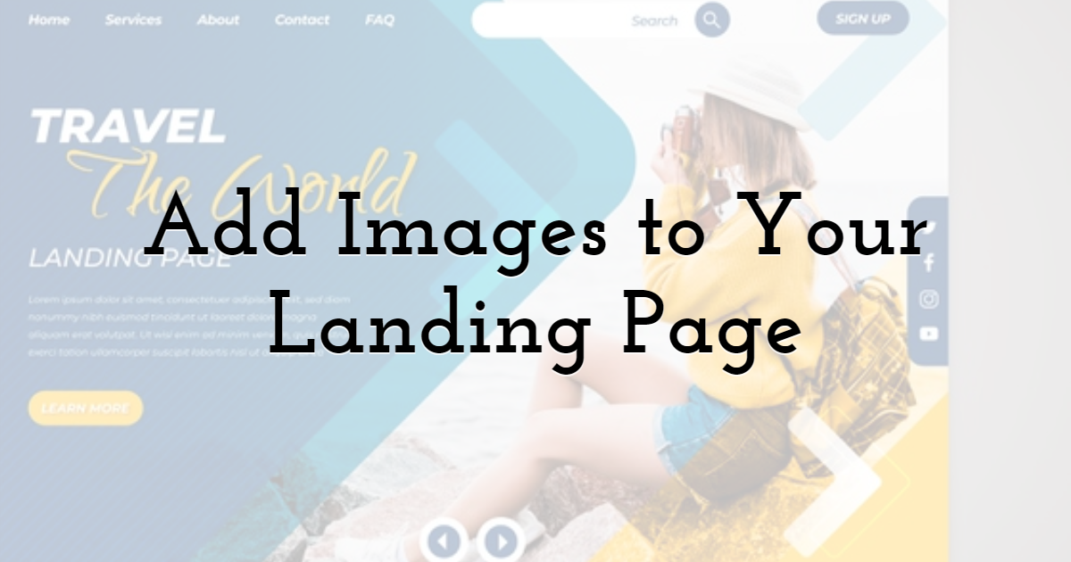 Add Images to Your Landing Page