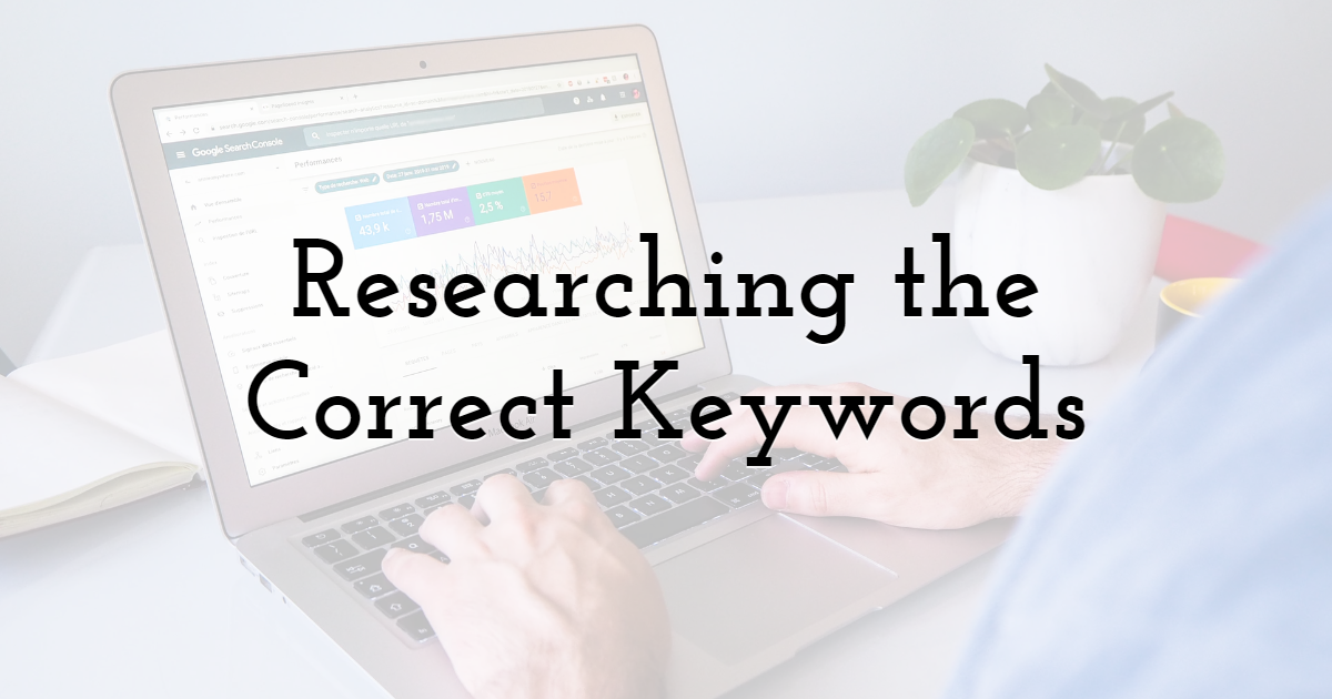 Researching the Correct Keywords