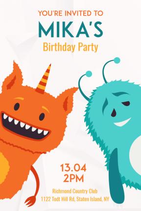 Birthday Party Happy Birthday Kids Party