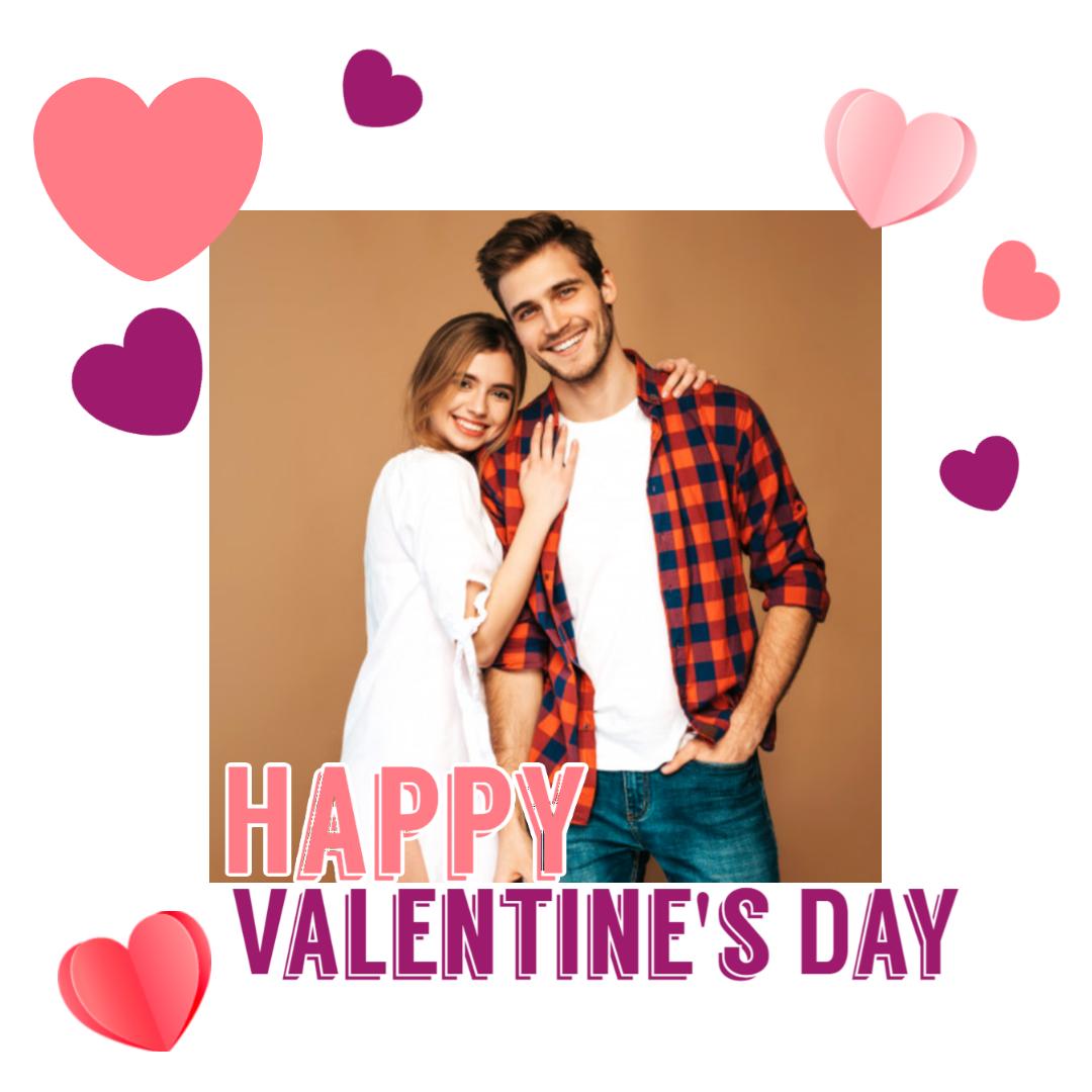 Happy Valentine's Day Design  Template