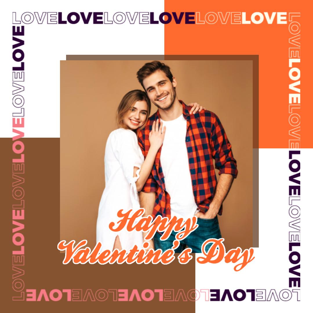 Valentine's Day  Party Invitation Design  Template