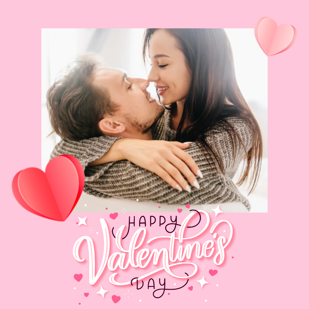 Happy Valentine's Day Design  Template