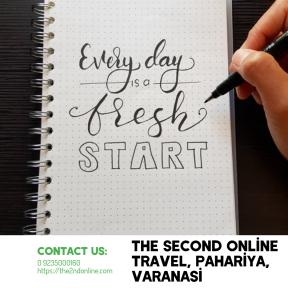 Everyday is a fresh start- Varanasi Travel Near Pahariya Mandi