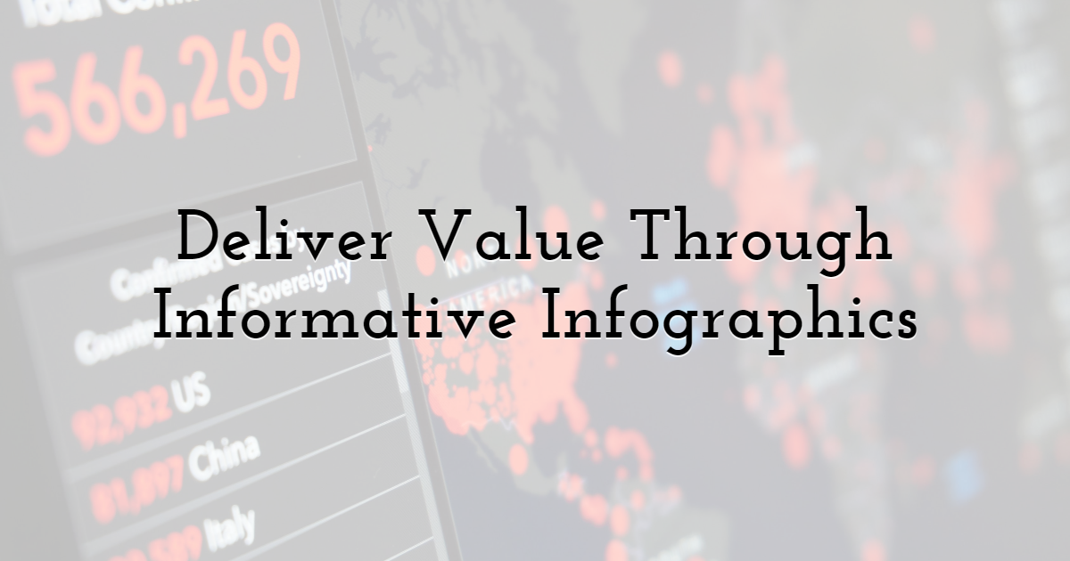 Deliver Value Through Informative Infographics