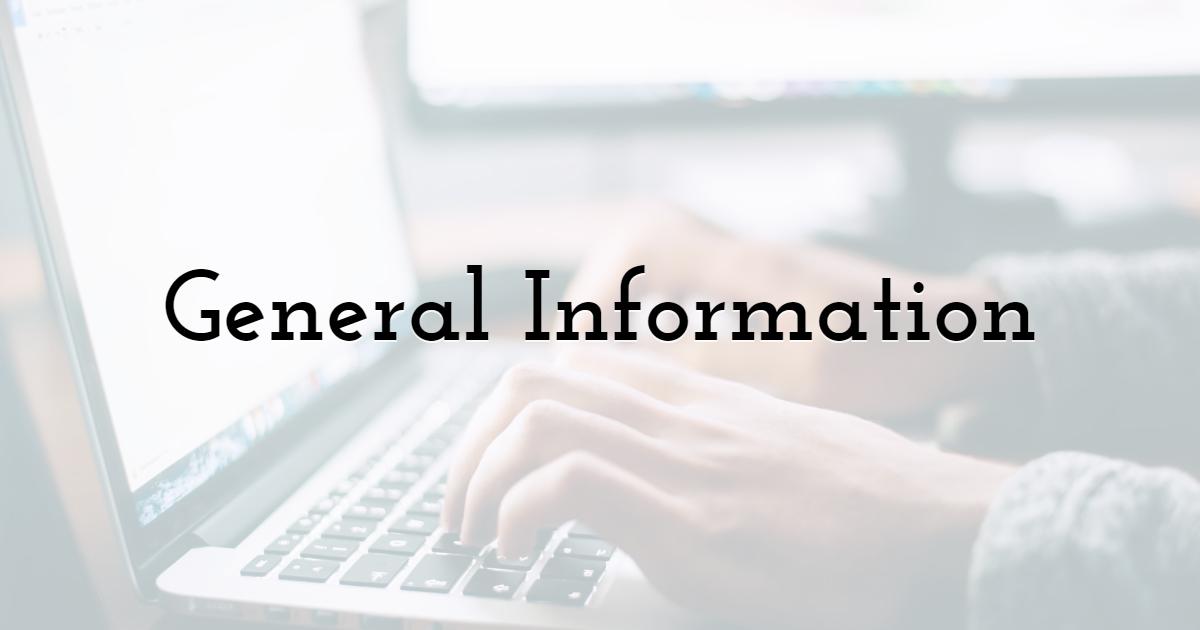 Graphic Designer: General Information